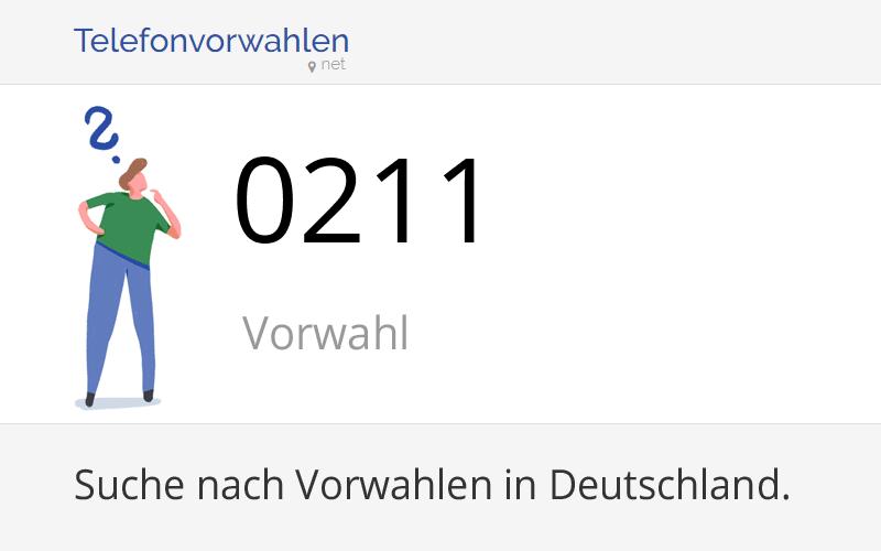 211 Vorwahl