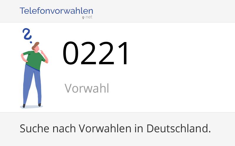 221 Vorwahl