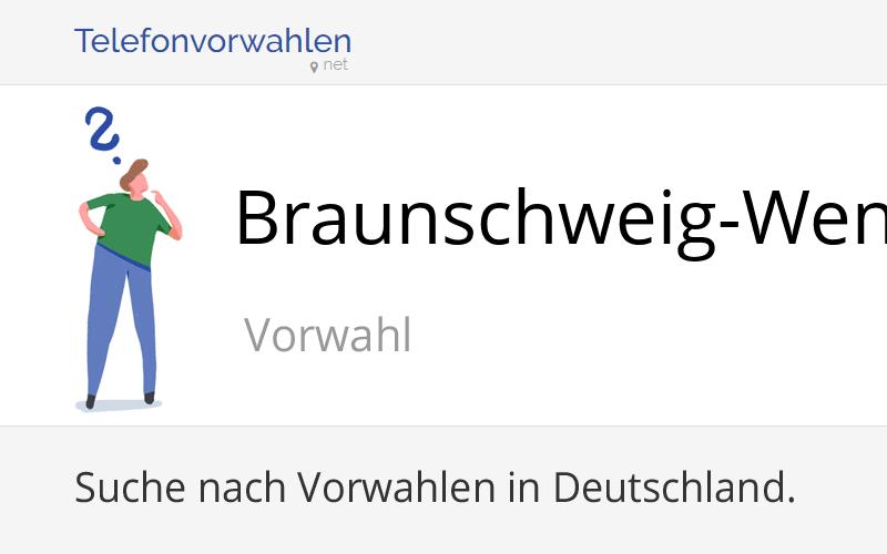 Vorwahl Braunschweig-Wenden, Telefonvorwahl von ...